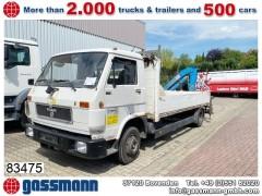 MAN VW 8.150 4x2 BL mit Heckkran Meiller MK 30 R, 2x